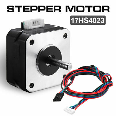 17hs4023 Nema 17 Stepper Motor 2 Phase Cable Wires For 3d Printer Extruder