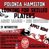 Polonia Hamilton is Looking for Skilled Players!
