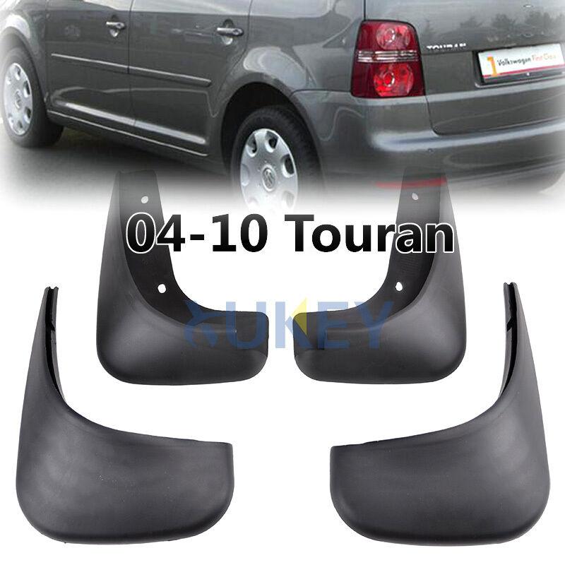 FRONT REAR FOR 2004~2010 VW TOURAN MUDFLAPS MUD FLAP FLAPS MUDGUARD SPLASH GUARD