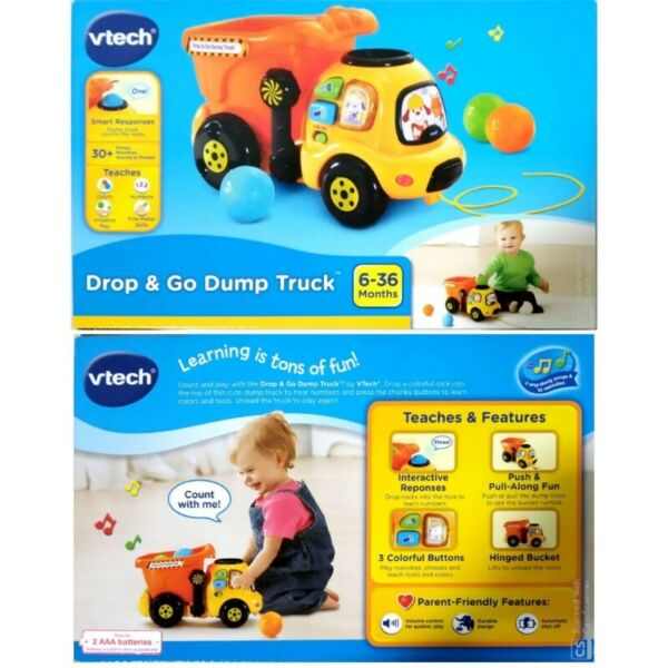 BNIB: VTech Drop and Go Dump Truck