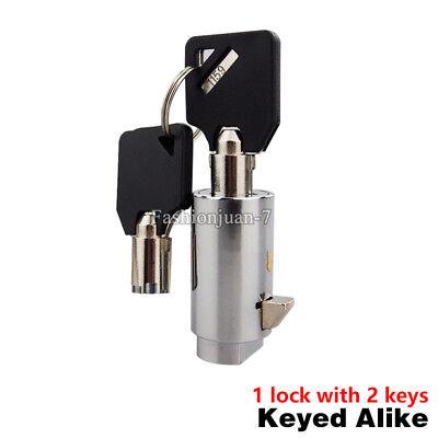 10pcs Universal Plug Lock For Soda Snack Vending Machine Replacement Lock W Keys