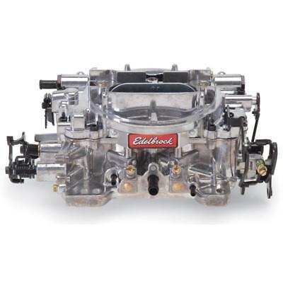 Edelbrock Carburetor 1825; 650 cfm 4 Barrel Manual Choke Vacuum Secondary Satin Barrel Vacuum Secondary Manual Choke