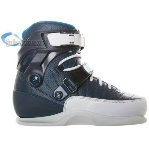Gawds Michel Prado Aggressive Inline BOOT ONLY Skates Mens 7.0 Blue NEW