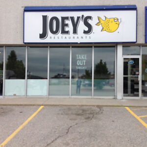 Fully Operating Turn Key Joey's Seafood Restaurant In North Bay