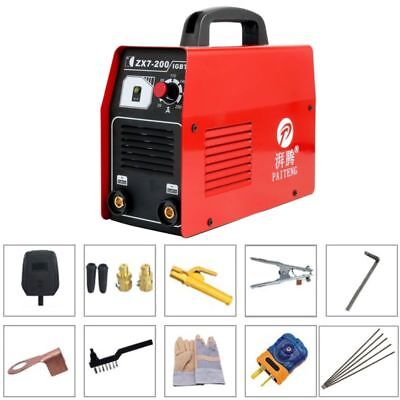 20-200 Amp 220v Stickarcmma Dc Inverter Welder Igbt Electric Welding Machine