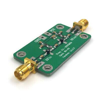 Wideband Rf Power Amplifier Low Noise Amp Lna 0.1-2000mhz High Gain 60db