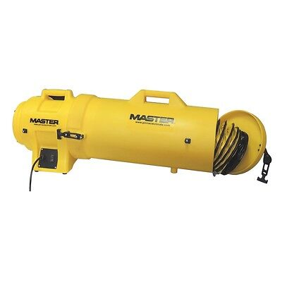 Master Mb-p0813-dc25 Confined Space Ventilation Blower W Canister 25 Ducting