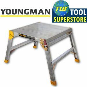 Youngman Odd Job 600 Folding Platform Square Bench Hop Step Up Decorators DIY