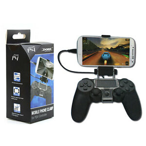 Cell Mobile Phone Smart Clip Clamp Holder for PS4 Game Controller