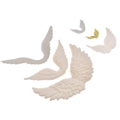 White Plastic Wing Angel Wings Festive Decoration Crafts Ornament Christmas Gift - Angel Wing Decorations