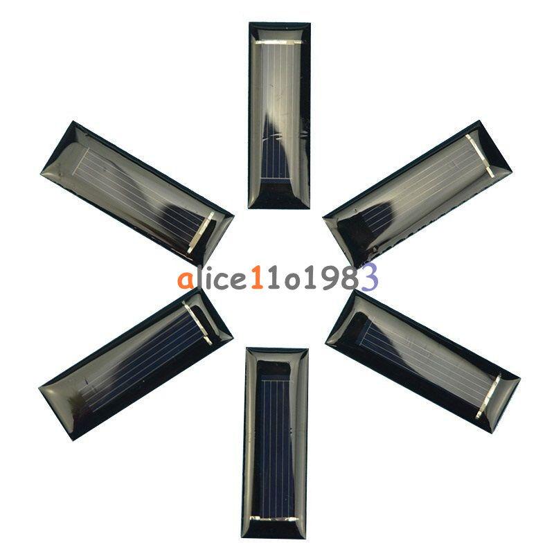 0 5v 6v 0 6w 1w 100ma Epoxy Solar Panel Module Cell