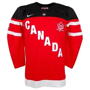 New Team Canada 100th Anniversary Nike Jersey, L, M and XS avail