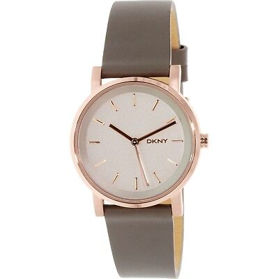 Dkny Women's Soho NY2341 Rose Gold Leather Quartz Fashion Watch