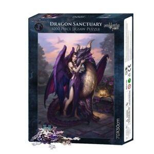 NEW! Nemesis Now Dragon Sanctuary 1000 piece gothic fantasy jigsaw puzzle