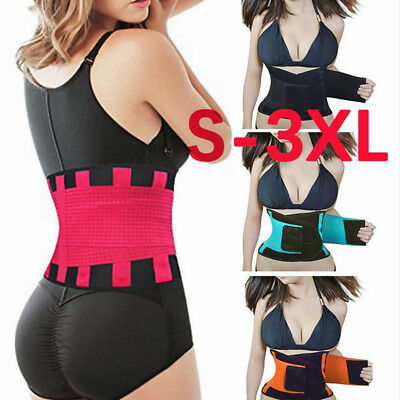 Best Waist Trainer Sauna Sweat Thermo Yoga Sport Shaper Fitness Belt Slim (Best Waist Trainer Belt)