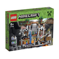 Lego Minecraft 21118, new in factory sealed box