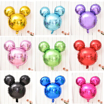 Baby Mickey Mouse (Mickey Mouse Silhouette Balloons Birthday Baby Shower Party Decorations)