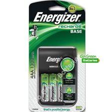 Energizer Base AA /AAA Charger + 4 AA 1300 mAh Rechargeable Batteries 2018 model