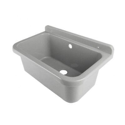 Ausgussbecken Kunststoff 55x34x21 cm Waschbecken geeignet für kleine Haustiere (Kleine Kunststoff-waschbecken)