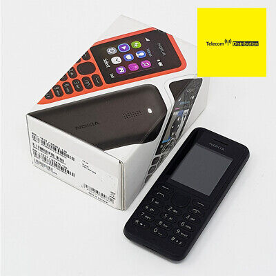 Nokia 130 2G - Black Basic Big Button Mobile Phone - RM-1037 New Condition - EE