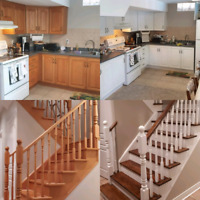 Are your railings and stairs out of date? Rooms to redecorate?