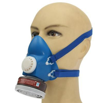 Antivirus Filter Mask Gas Protection Double Guard Respirator Self Chemical Face