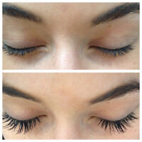 Last minute eyelash extensions available