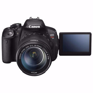 Canon T5i Bundle! Canon EF-S 18-135mm (BULLET TIME RIG Cameras)