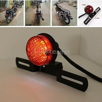 Motorcycle Rear LED Tail Brake Stop Light For Harley Chopper Bobber CAFE RACER
