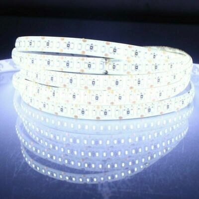Car Parts - Flexible 5M 12V LED Strip Light Waterproof 300 3528 SMD Rope/Tape Cool White