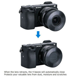 Auto Open and Close Lens Cap for Sony E PZ 16-50mm Alpha