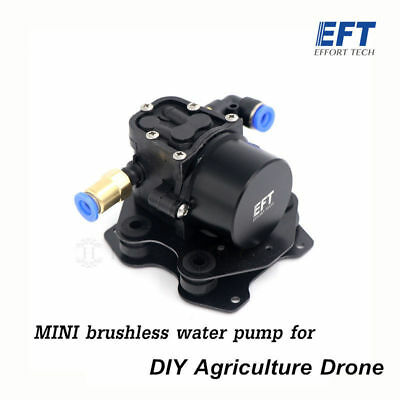 Mini Brushless Water Pump for DIY Agriculture drone spray gimbal - 3S or 6S