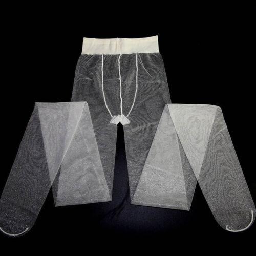 Women Shiny Sheer Glossy Tights 2 Denier Shimmer Pantyhose See Through Stockings
