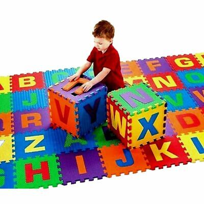 26pcs Large Alphabet Numbers EVA Floor play Mat Baby Room ABC foam  Jigsaw Toy