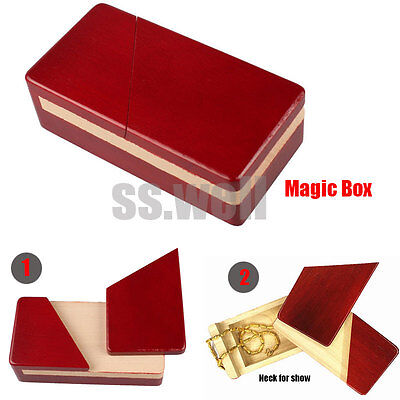 Large Wooden Magic Box Puzzle Game for Adults Children Gifts IQ Brain Teaser Toy