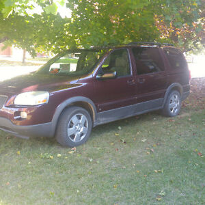 2006 Pontiac Montana Minivan, Van Peterborough Peterborough Area image 1