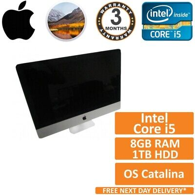 """Apple iMac 21.5"""" A1418 Late 2012 Core i5-3330s 2.7GHz 8GB RAM 1TB HDD Catalina C"""