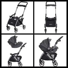 Graco SnugRider Elite Black Infant Car Seat Frame Stroller ...