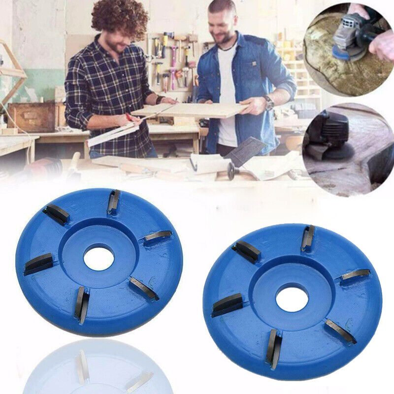 90mm Woodcarving Disc Rotary Planer for Angle Grinder Power Carve Wood Crafts