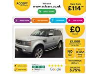 Land Rover Range Rover Sport FROM £114 PER WEEK!