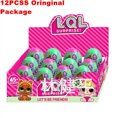 12Pcs Series 2 Lol Surprise Doll 7 Layers Ball L O L Collectible Outrageous Toy