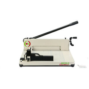 """12"""" Manul High-End Guillotine Stack Paper Cutter New!!!"""