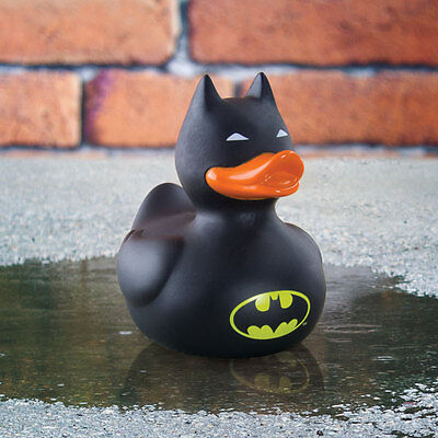 Rubber Duck Game - Official Batman Bath Rubber Duck Game Bath Time Water Fun Toy Kids Gift DC Comic