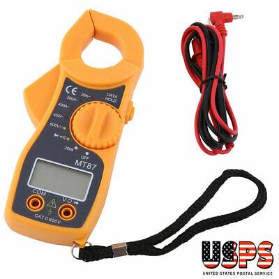 Digital Clamp Meter Multimeter Dc Ac Voltmeter Auto Range Volt Ohm Amp Tester Us