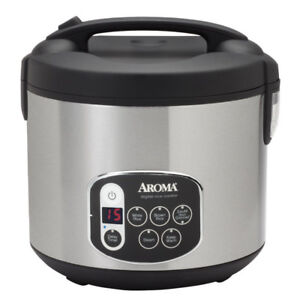 Aroma ARC-1010SB 20-Cup, Cooked Digital Rice Cooker