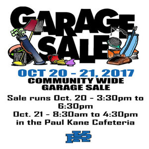 MASSIVE Paul Kane Grad Garage Sale & E-Waste Event 2017