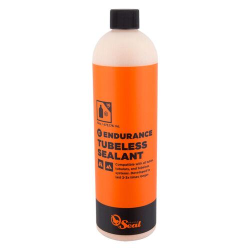 ORANGE SEAL ENDURANCE Latex Tubeless Tire Sealant MTB/CX/Road Bike 16oz Bottle
