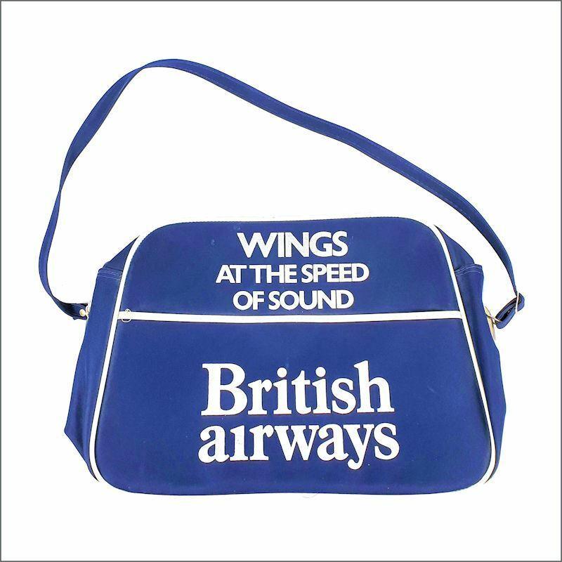 Paul McCartney/Wings 76 Wings At The Speed Of Sound British Airways Flight Bag