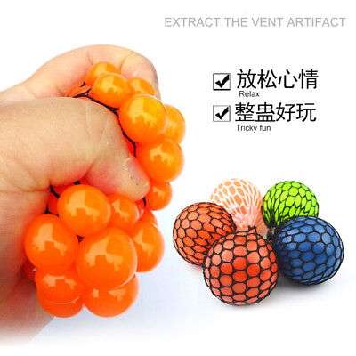Squishy Mesh sensory stress reliever ball toy autism squeeze anxiety - Squishy Mesh Stress Ball