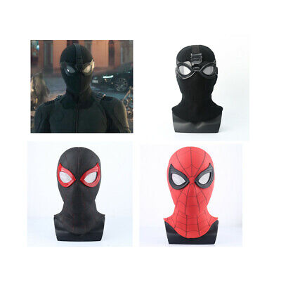 Spiderman Stealth Suit Mask Full Face Helmet Spider-Man Far From Home Halloween](Halloween Spider Font)